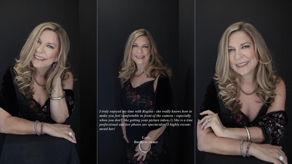 Portrait photographer for mature women Victoria