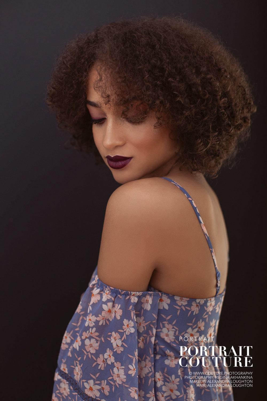Fashion Portrait of Samme | Regina Akhankina, Victoria portrait photographer