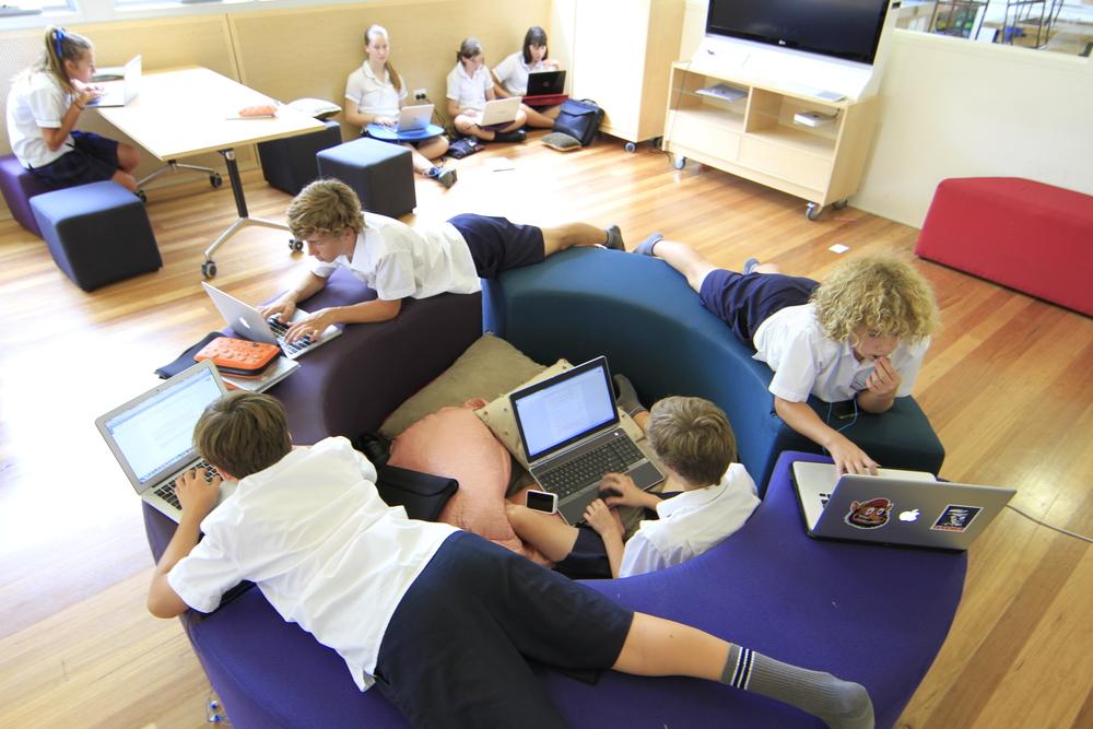An innovation unit embedded in a K-12 school
