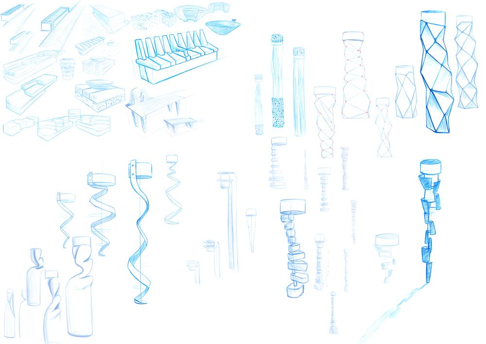 © Heatherwick Studio 2014 - Sketches by Harry Vos