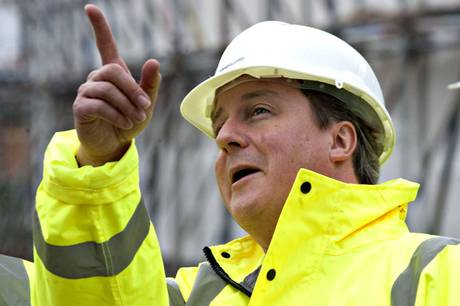 David Cameron has announced plans to scrap large amounts of British building regulations.