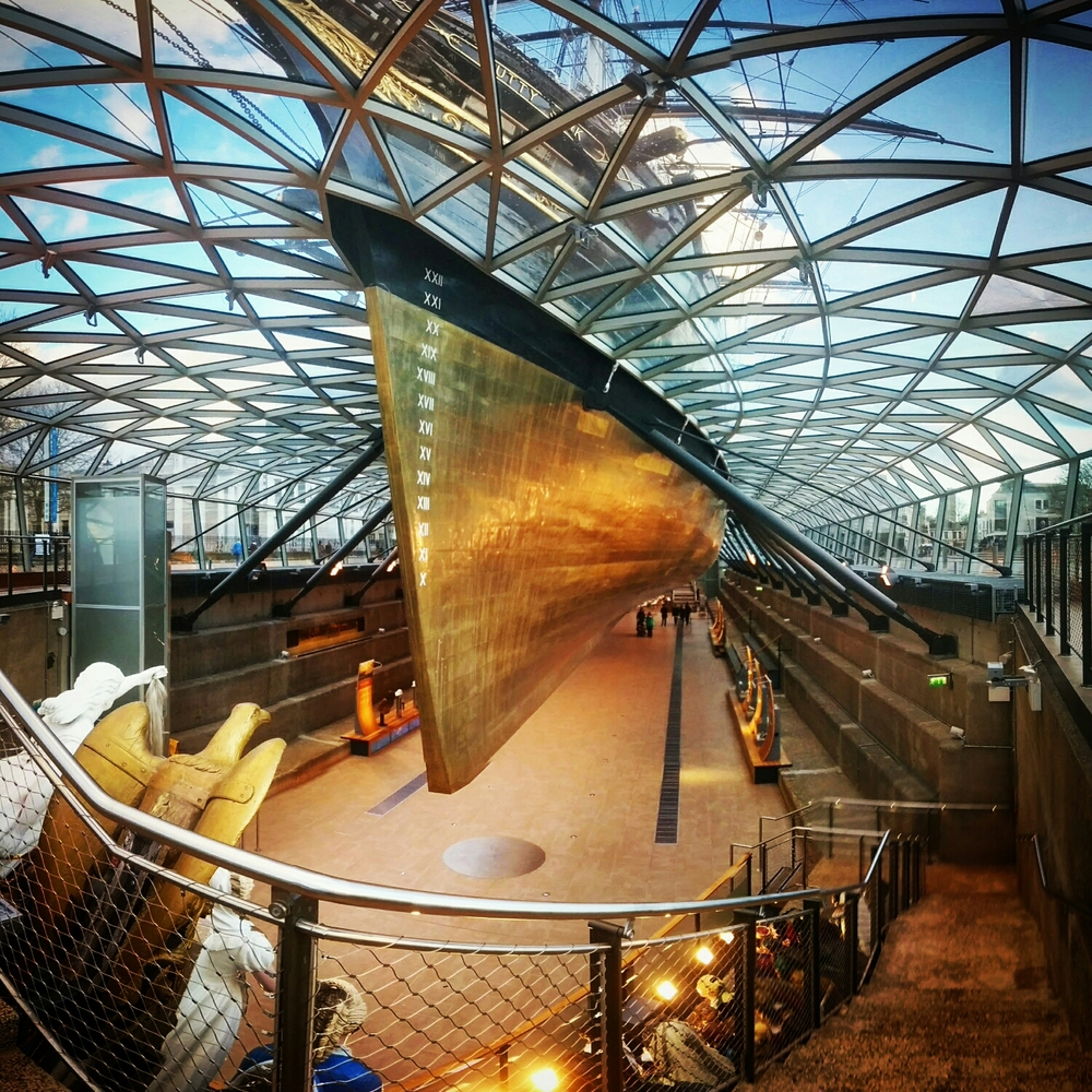Cutty Sark visitors' centre, Greenwich
