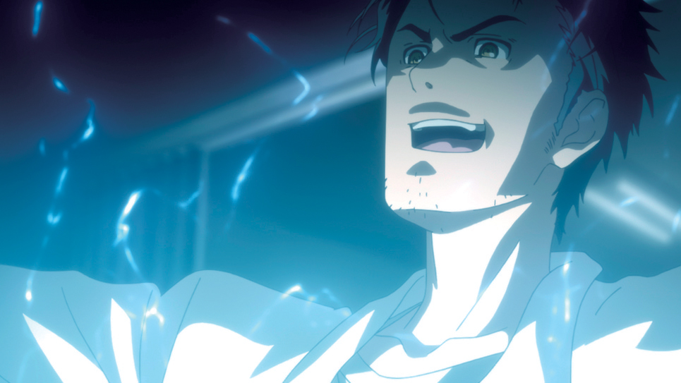 Okabe's Mad Scientist Schtick.