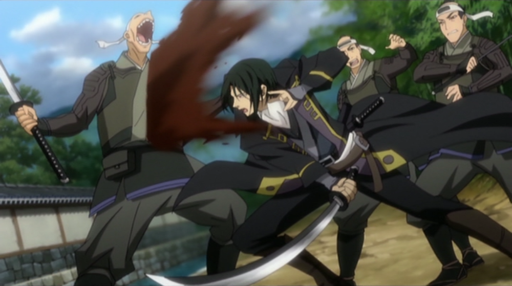 Hijikata fights!