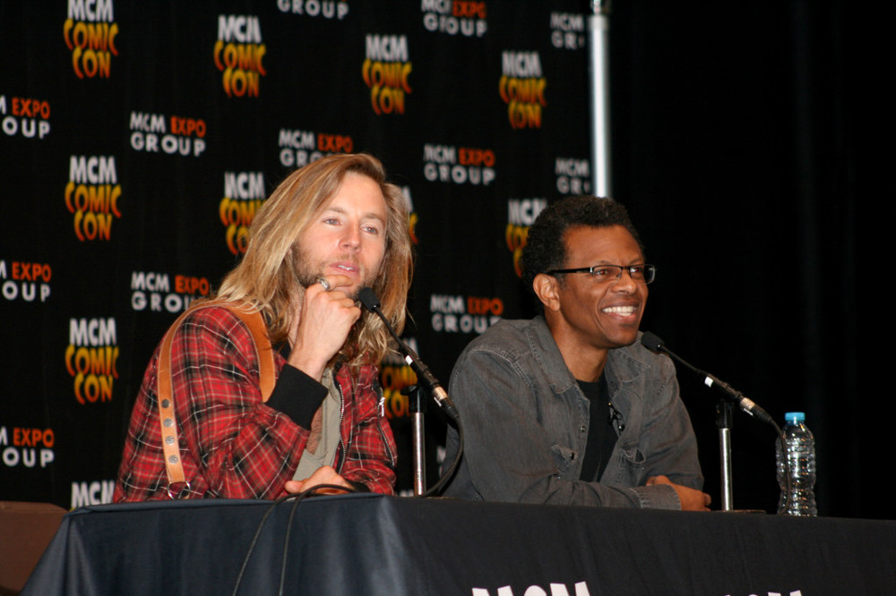 VA Greg Cipes and Phil Lemar at Panel