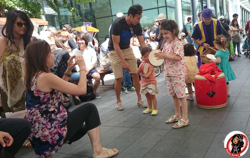 kids dance at okinawa day