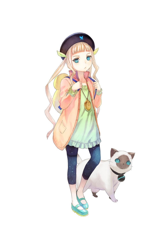Elle & Rollo character designs