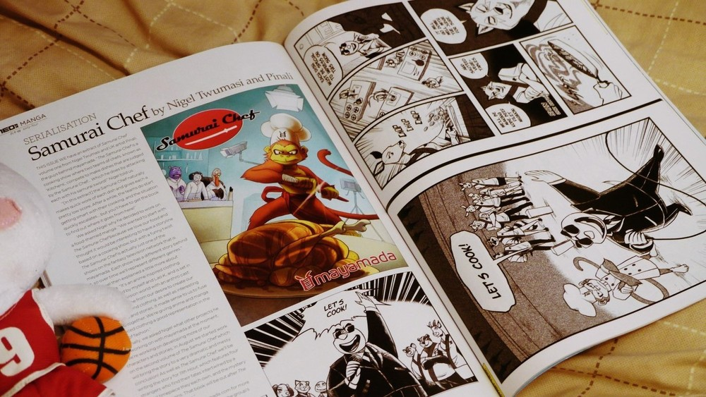 samurai chef vol 2 kickstarter