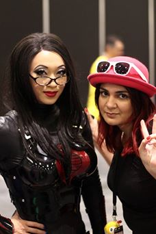 Yaya Han & Aisha Anime at the last LSCC - photo by Pk Snap Snap :D