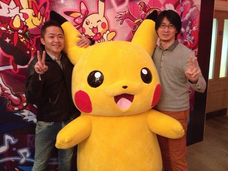 pikachu and matsuma and ohisone