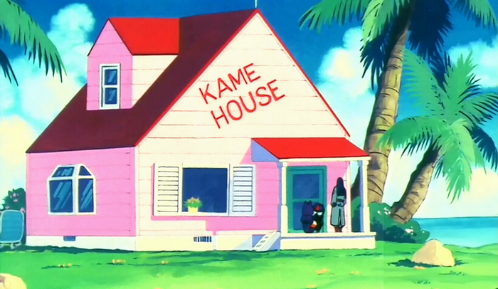 Kame House: Eternal container of cast members who don't seem to matter anymore.