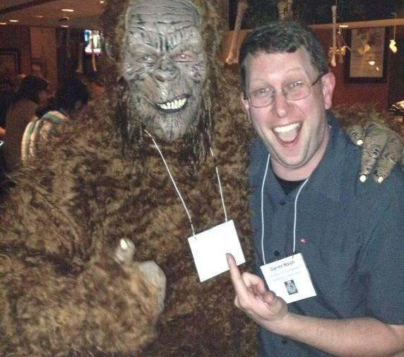 I've only had one up-close encounter with a Bigfoot myself (it happened in California); I didn't have opportunity at the time to do any checking as goes any details of anatomy, but here's the proof. Image: [safely anonymous source]/Darren Naish.