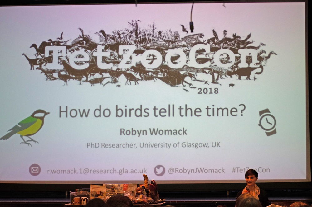 Robyn Womack's cover slide. Image: Georgia Witton-Maclean.