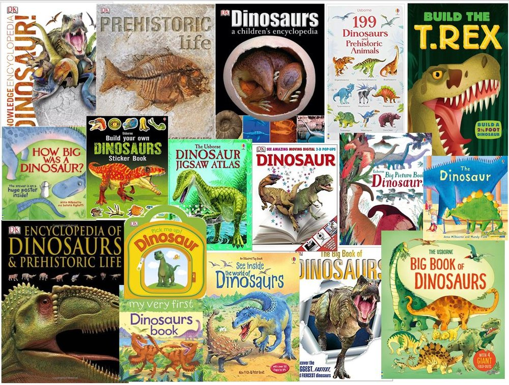A slide I generated for my talk, showing some (yeah… some) of the dinosaur-themed books I've been involved in during my career as a freelancer. What's the story here? All will be revealed on the 15th. Oh, and I'm talking about dinosaur sex as well. Again.