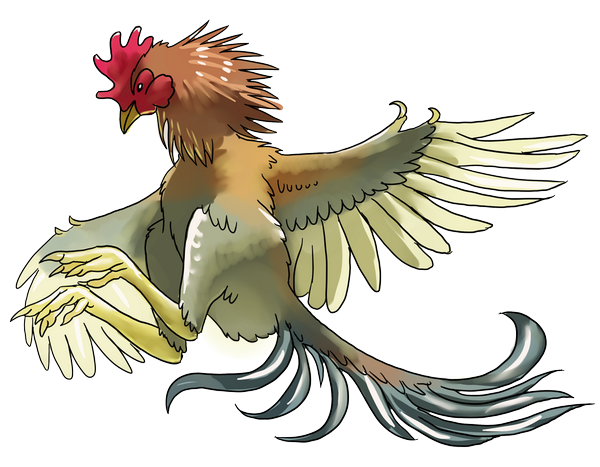 If a 'dino-chicken' ever does come to pass, it should be awesome and beautiful — like a real chicken. Err, in which case I don't think anyone will look at it and think of a connection with the Mesozoic maniraptorans it's meant to evoke. Whatever. Credit: Rebecca Groom.