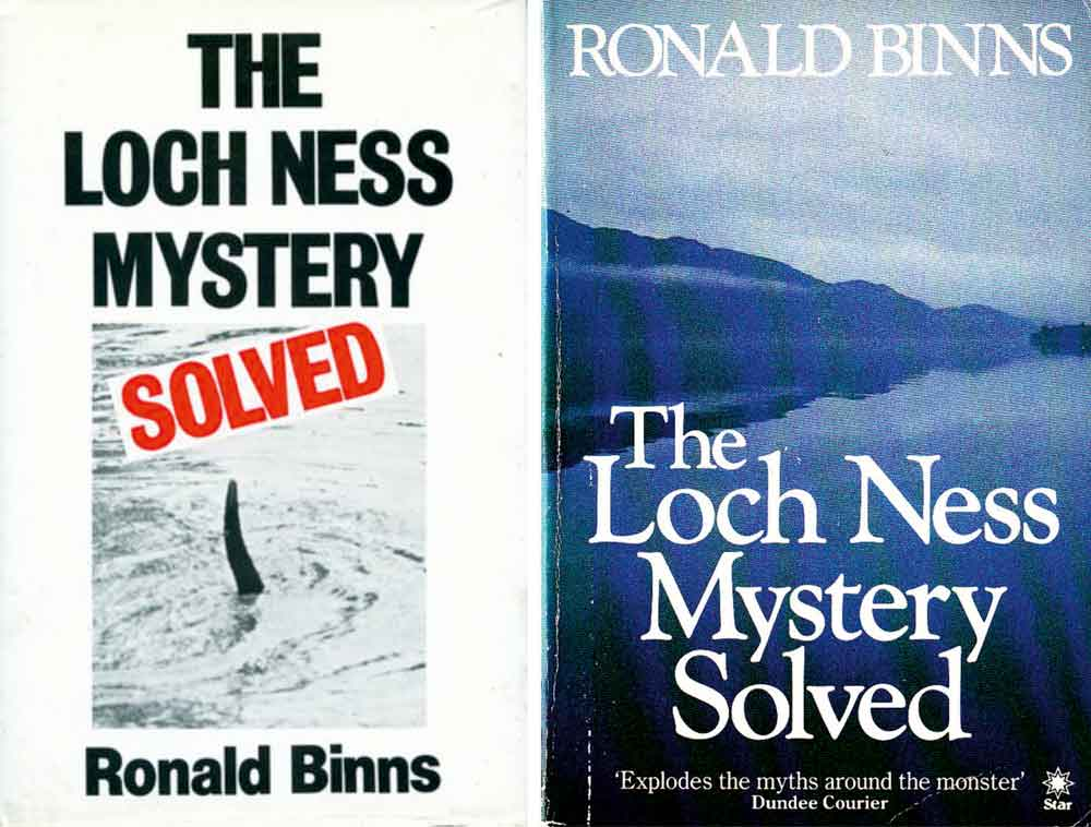 Binns (1983)  , hardback (at left) and 1984 softback edition.