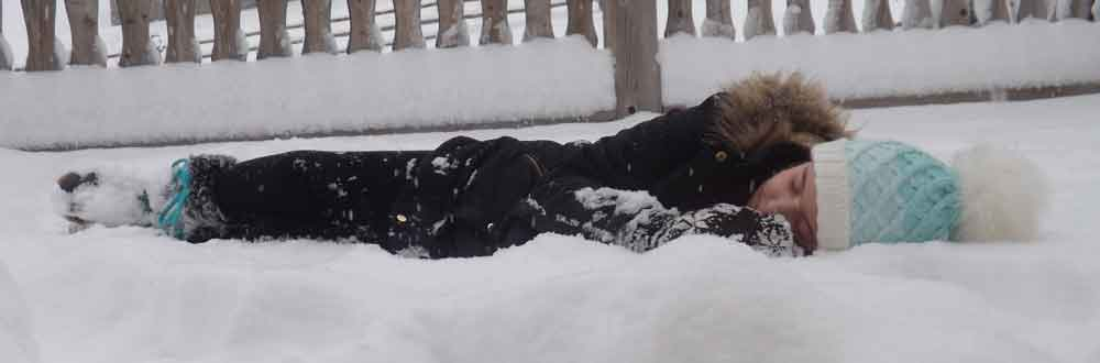 Human sleep behaviour is interesting - we're unusual, relative to other primates, in several respects. Sleeping in the snow is not usually advised though. Image: Darren Naish.
