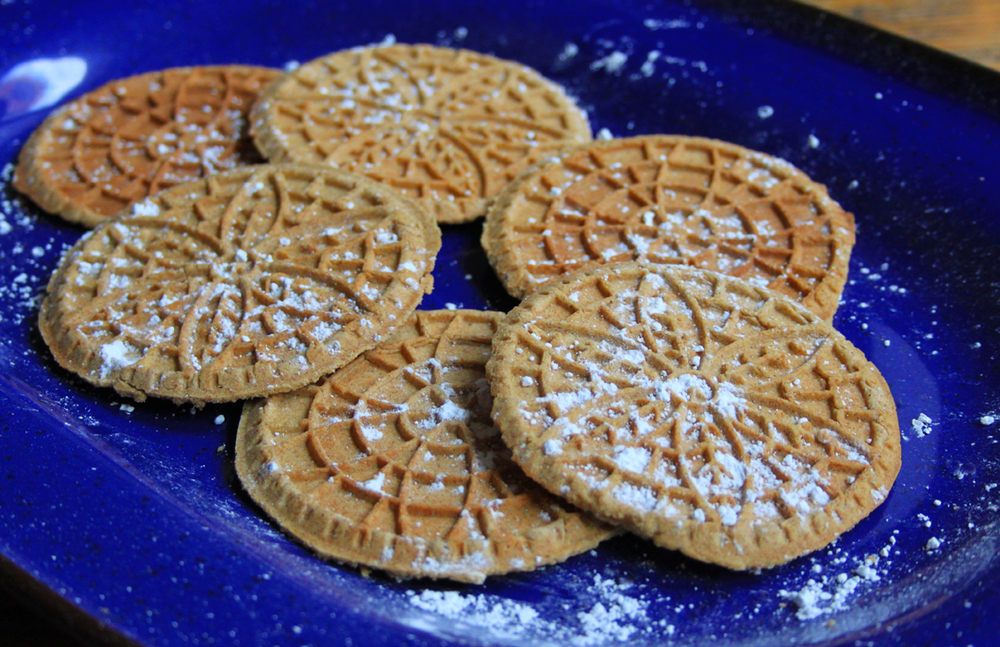 Whole Wheat Pizzelles