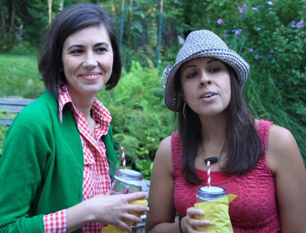 Lisa and Danielle