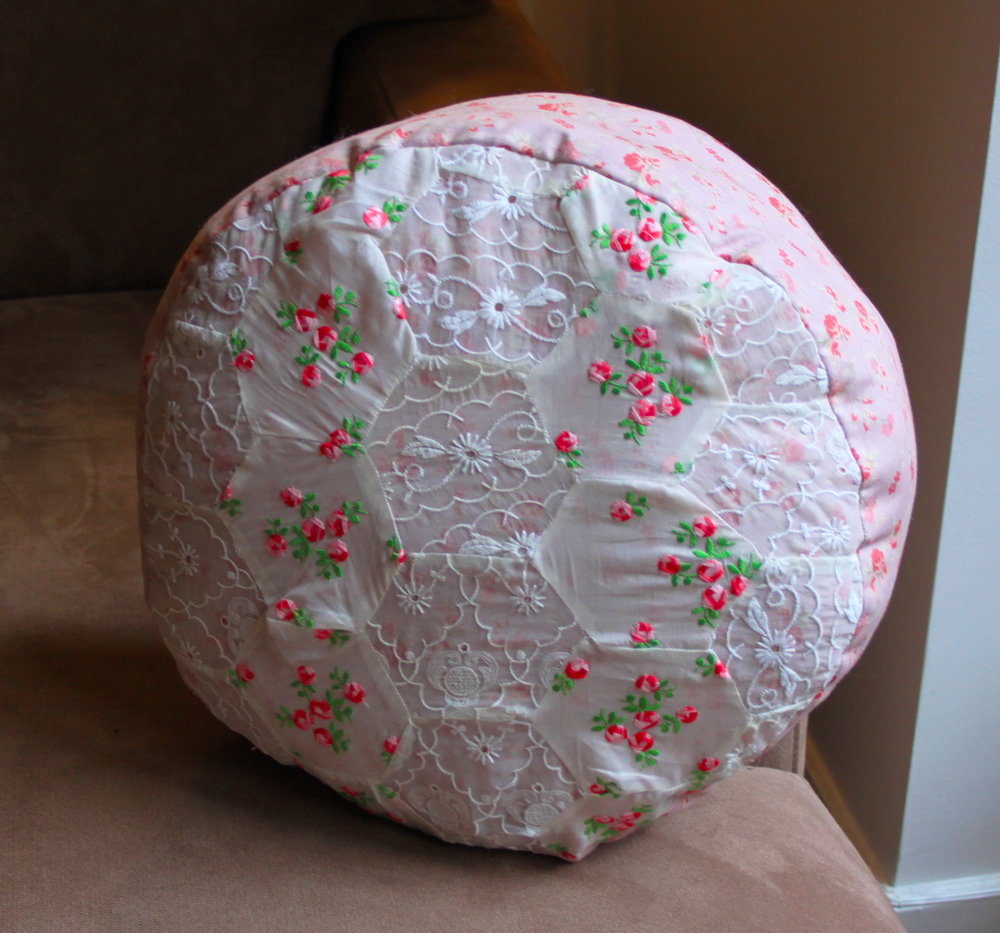 Quilted Round Pillow