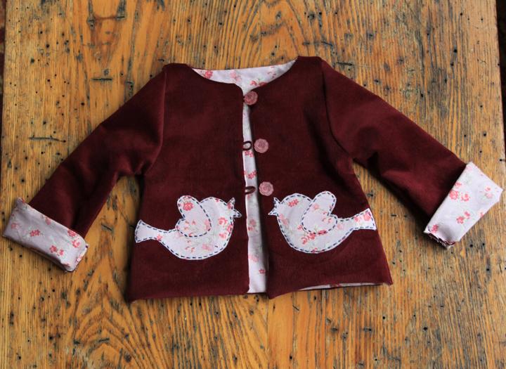 Corduroy Jacket for Toddler