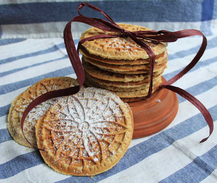 Orange Cardamom Pizzelles