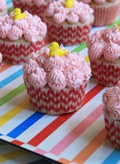 Baby Shower Strawberry Cupcake Recipe