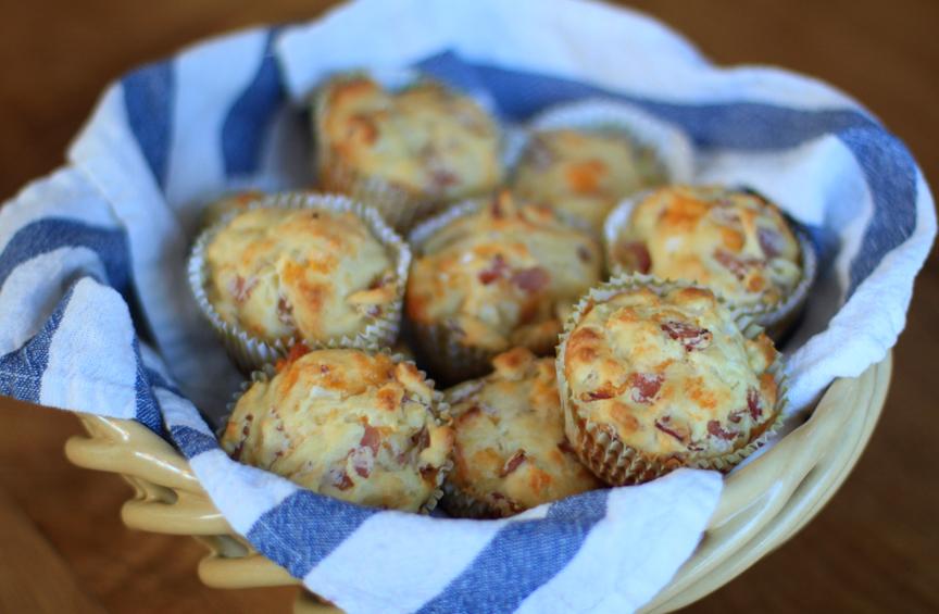 Ham and Cheese Muffin Recipe