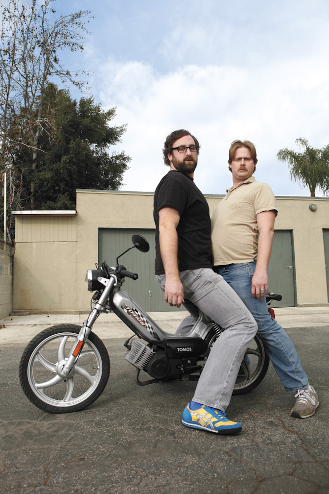 Tim Heidecker and Eric Wareheim
