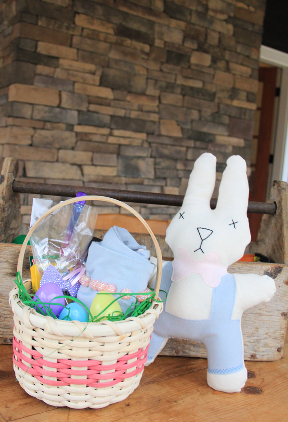 How to Make Easter Bunny Pajamas with a Matching Stuffed Bunny