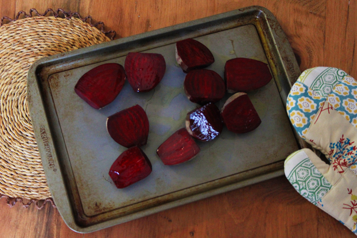Recipe for Roasted Beet and Smoked Trout Salad with Creme Fraiche // Life is Made with Katie Miles // www.lifeismade.com