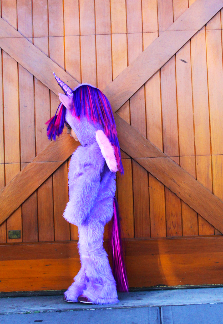How to Make a My Little Pony Costume // Life is Made with Katie Miles // www.lifeismade.com