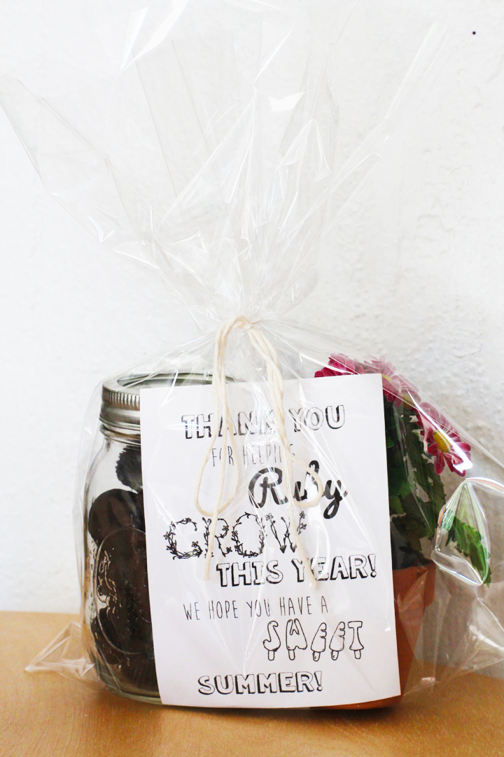 DIY End of the Year Teacher Gift // Life is Made with Katie Miles // www.lifeismade.com