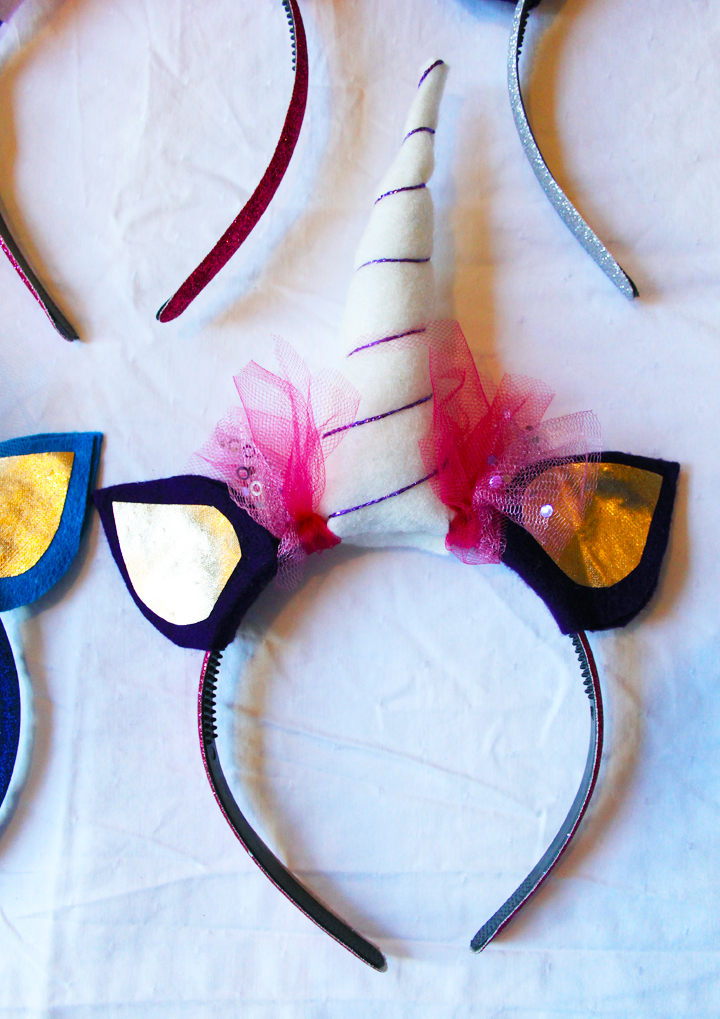 Unicorn Party Headband // Life is Made with Katie Miles // www.lifeismade.com