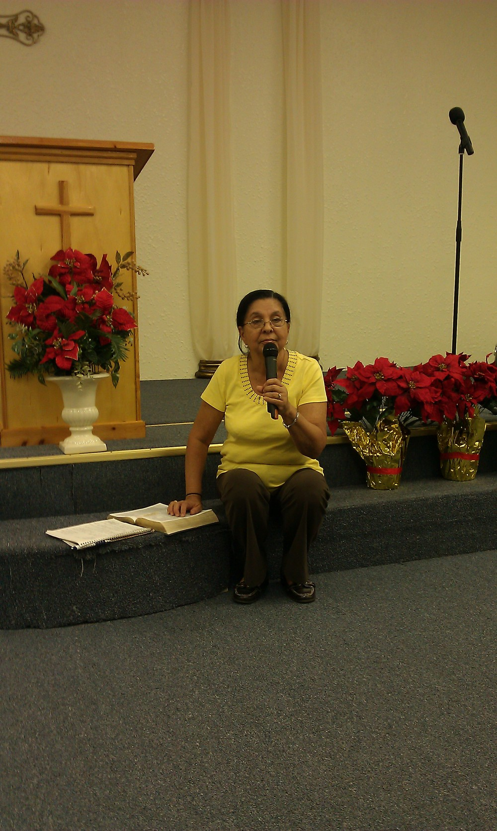 Elder Alicia at God Is Good Ministries.