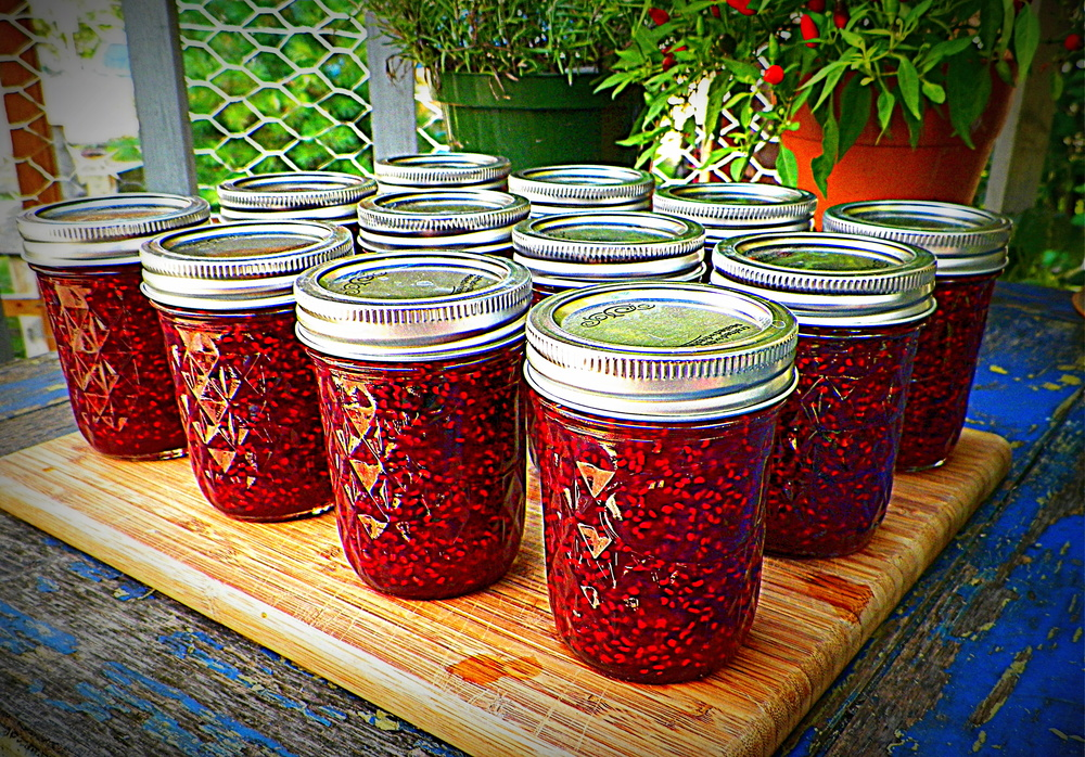 Foraged Raspberry Jam
