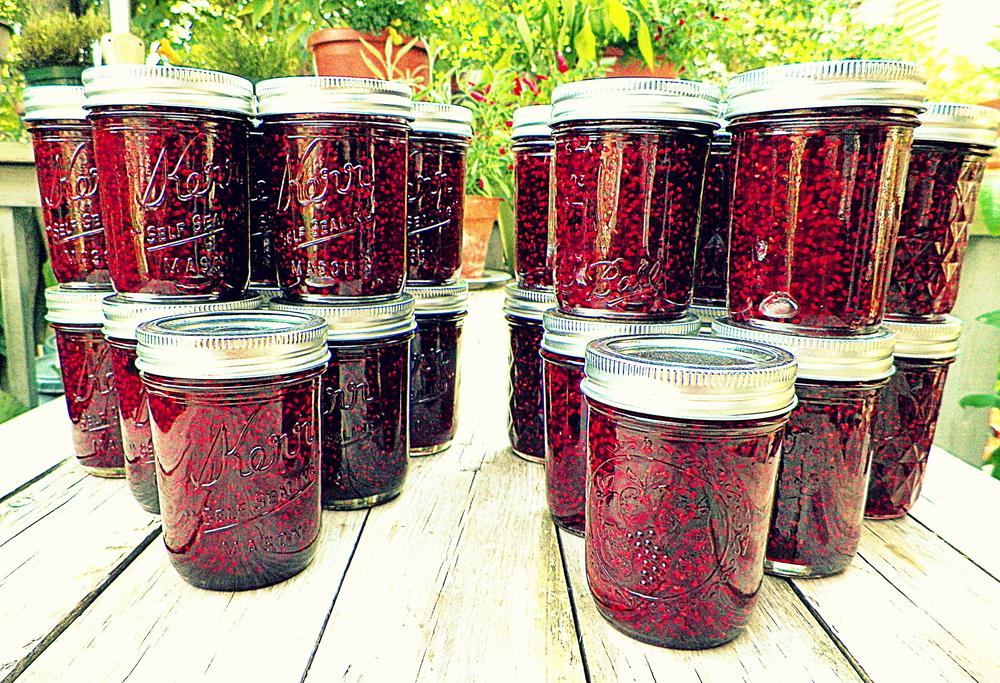 Raspberry Habanero Jam