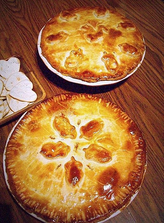 Rabbit and Kidney Pies with Maitaki Mushrooms