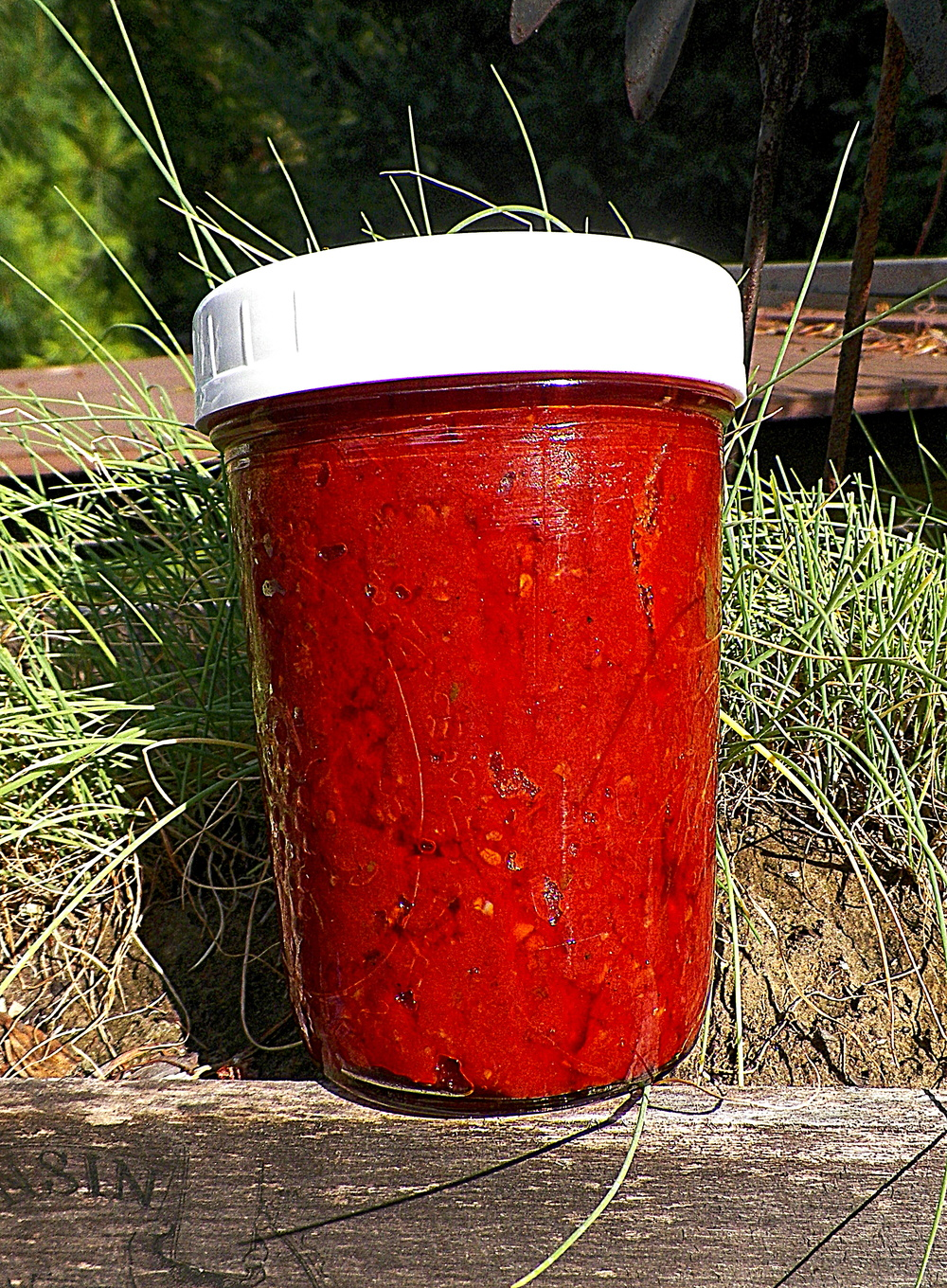 Finished tomato paste