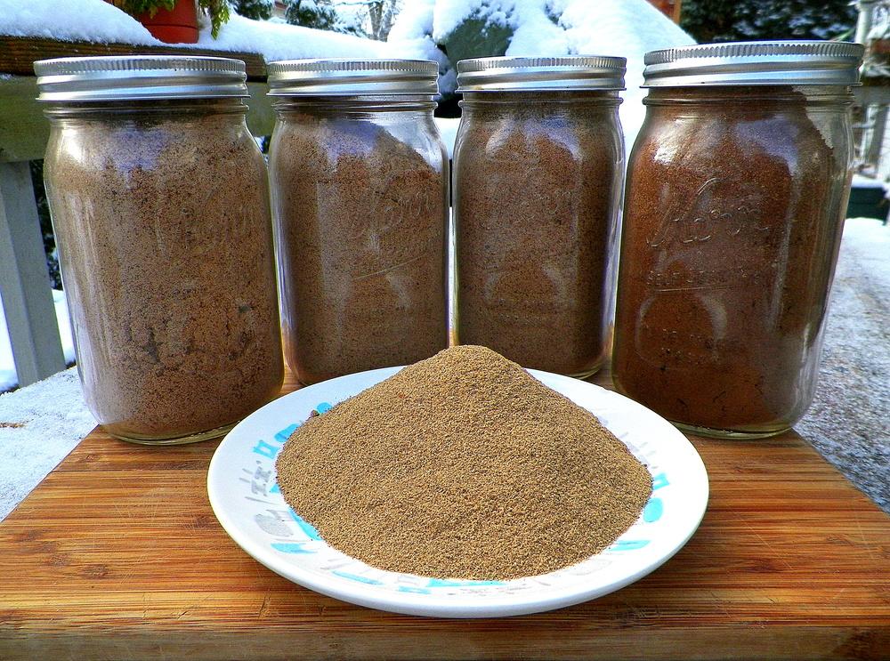 Acorn flour.