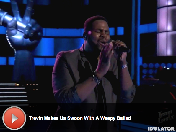 'The Voice:' Trevin Hunte Impresses