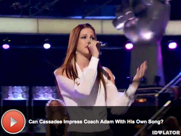 'The Voice:' Cassadee Pope Covers Maroon 5