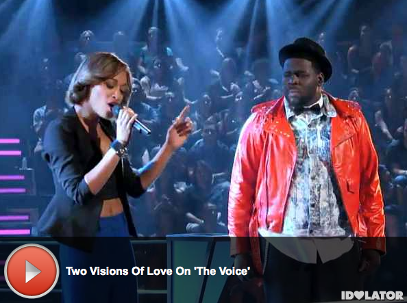 'The Voice:' Trevin Hunte and Amanda Brown