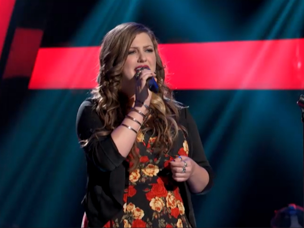 The Voice: Sarah Simmons