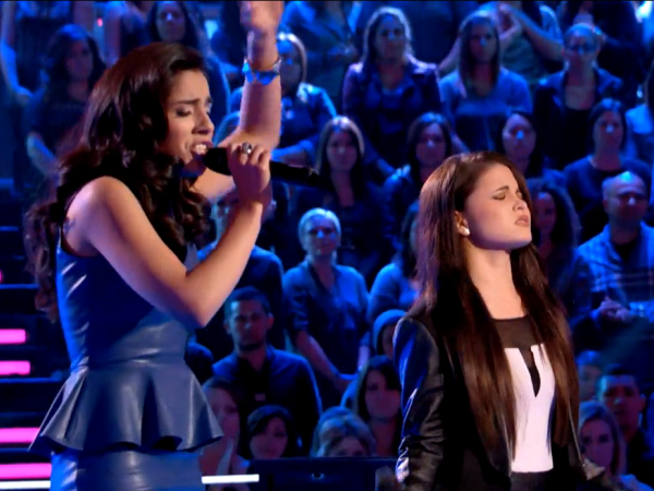 The Voice - Cathia and Mary Miranda