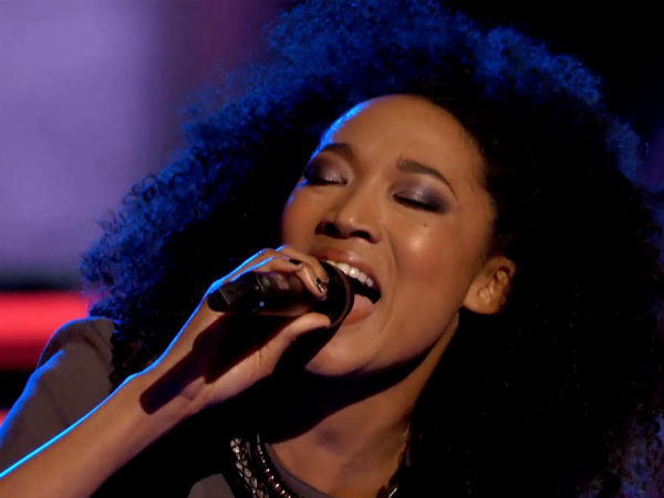 The Voice Judith Hill Sasha Allen