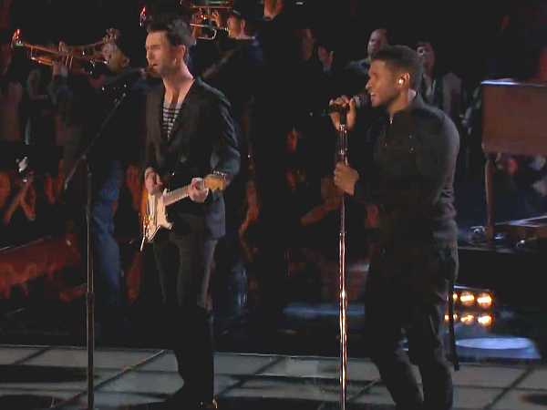 The Voice Usher Adam Levine