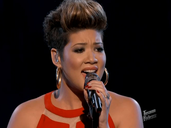 The Voice Tessanne Chin Whitney Houston
