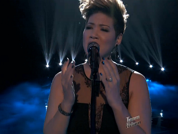The Voice - Tessanne Chin Bridge over Trouble Water