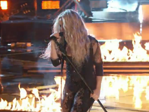 The Voice Shakira Performs Empire